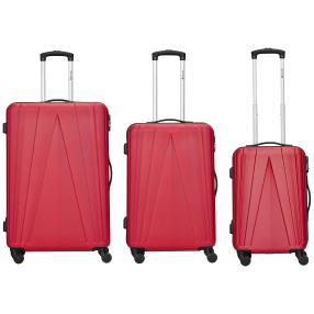 TRAVEL FIRST Spacestar 3-teiliges Set, rot