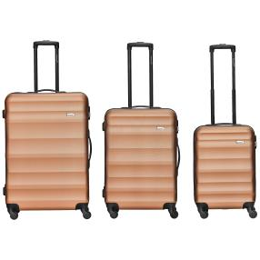 "Packenger ""Timber"" 3-teiliges Set, bronze"