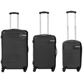 BANNISTERS NEW YORK Hudson 3-teiliges Set, schwarz