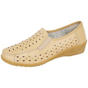 TOPWAY COMFORT Damen-Slipper, beige