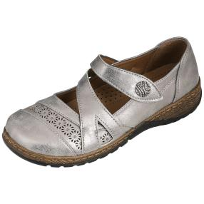TOPWAY COMFORT Damen-Slipper, pewter