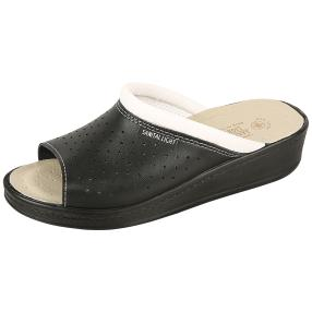 SANITAL LIGHT Damen Leder-Pantolette