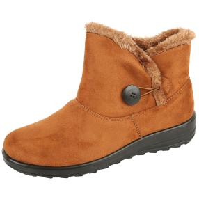 Cushion Walk Stiefeletten CARLY, cognac