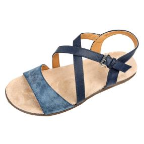 Claudia Ghizzani Damen-Sandalen supersoft, navy