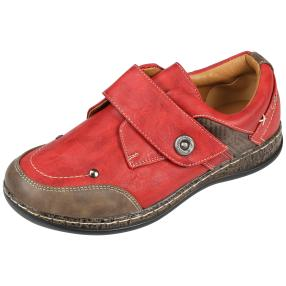 SUPER IN Damen Klett-Slipper, rot