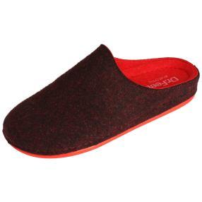 Dr. Feet Damen-Hausschuhe, schwarz