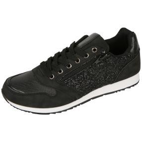 IDENTITY Damen-Sneakers, schwarz