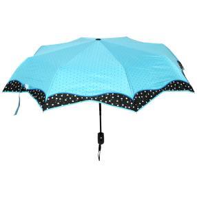 ELISABETH NAEEM Regenschirm, hellblau
