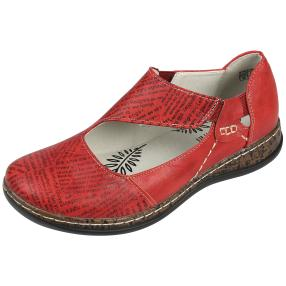 SUPER IN Damen Elastik-Slipper, rot