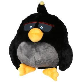 ANGRY BIRDS Rucksack, schwarz