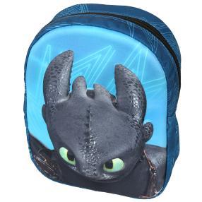 DreamWorks Rucksack DRAGON 3, blau
