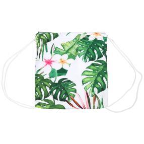 Wandel-Tasche Palmenblätter, grün