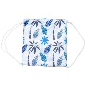 Wandel-Tasche Ananas, blau