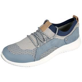 Relife® Damen-Schnür-Slipper, light blue