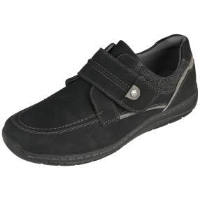 Relife® Herren-Klett-Slipper, schwarz