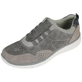 Relife® Damen-Elastik-Slipper, grau