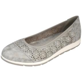 Relife® Damen Slipper, grau
