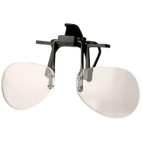 Flip&Focus Brillenlupe, schwarz