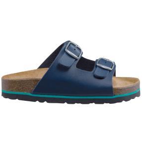 LICO Bioline Damen-Pantolette, dunkelblau