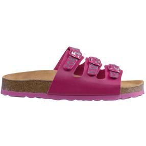 LICO Kinder-Slipper BIOLINE TEENA pink/silber