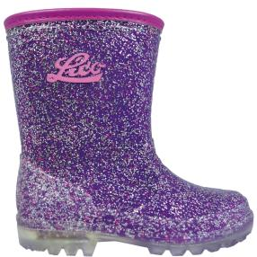 LICO Kinder-Gummistiefel Powerlight w blinky, lila