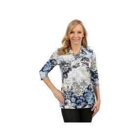 Rössler Selection Damen-Poloshirt blau