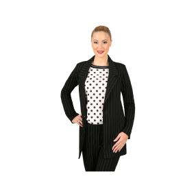 TOM CROWN Damen-Blazer, Nadelstreifen