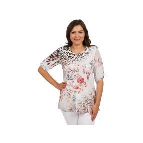 "Damen Tunika ""Made in Italy"" Blumenprint"