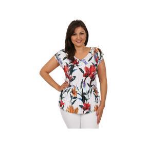 """Jeannie Damen-Plissee-Shirt """"Aurora"""""""