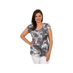 "Jeannie Damen-Plissee-Shirt ""Lovely Circles"""