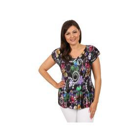 "Jeannie Damen-Plissee-Shirt ""Festival"""