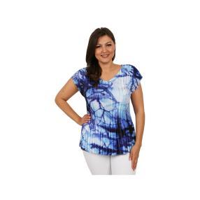 "Jeannie Damen-Plissee-Shirt ""Aruba"""