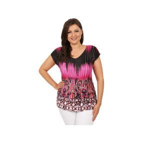 """Jeannie Damen-Plissee-Shirt """"Scarlet"""""""