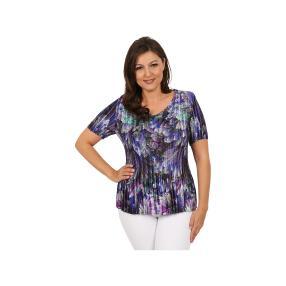 "Jeannie Damen-Plissee-Shirt ""Petunia"""