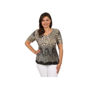 """Jeannie Damen-Plissee-Shirt """"Into the Wild"""""""