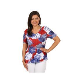 """Jeannie Damen-Plissee-Shirt """"Isola Bella"""""""