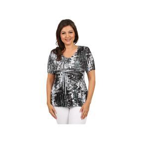 """Jeannie Damen-Plissee-Shirt """"Alla Moda"""""""