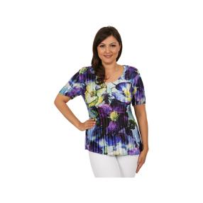 "Jeannie Damen-Plissee-Shirt ""Rhapsody"""