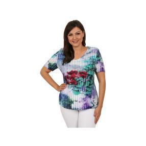 "Jeannie Damen-Plissee-Shirt ""Capri Breeze"""