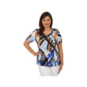"""Jeannie Damen-Plissee-Shirt """"Happy Tune"""""""