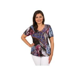 "Jeannie Damen-Plissee-Shirt ""Gloss"""