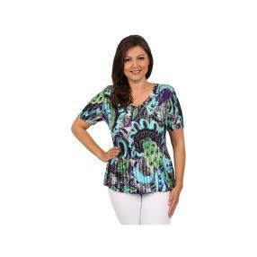 """Jeannie Damen-Plissee-Shirt """"Splash"""""""