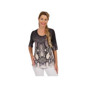 "BRILLIANT SHIRTS Damen-Shirt ""Belle"", braun"