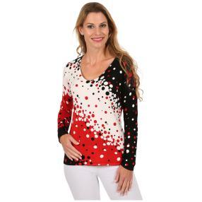 "MILANO DESIGN Damen-Pullover ""Cheeky Dots"""