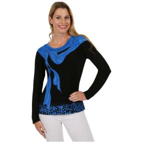 "MILANO DESIGN Damen-Pullover ""Lovely Blue"""