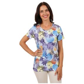 "Lovely Colours Damen-Shirt ""Pineapples"""
