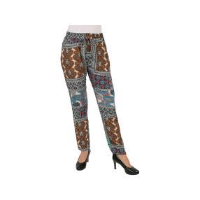 """Leichte Damen Hose """"Lipari"""", bedruckt"""