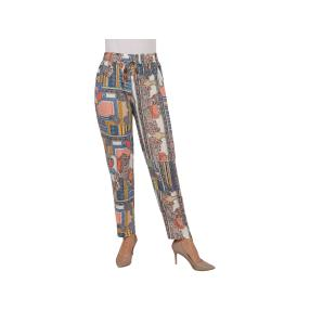 "Leichte Damen Hose ""Korfu"", bedruckt"