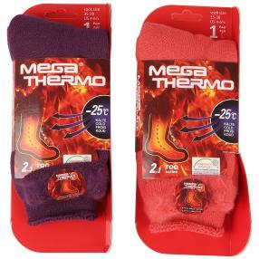"""2er Set Damen-Mega Thermo Socken """"Fluffy"""""""