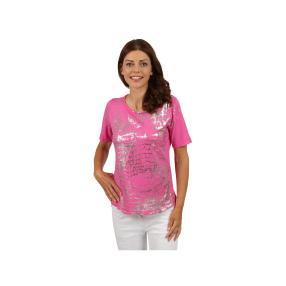 """Lisa Laardo Damen-Shirt """"Linda"""", pink/silber"""